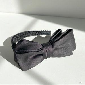 Satin Headband with Bow